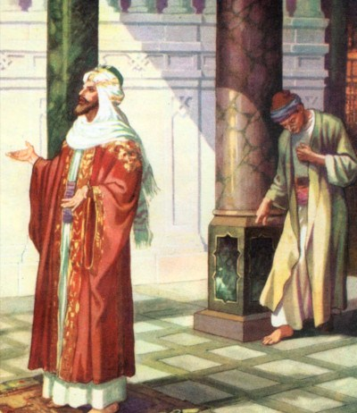 Pharisee and Publican Praying