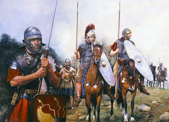 Romans soldiers & cavalry