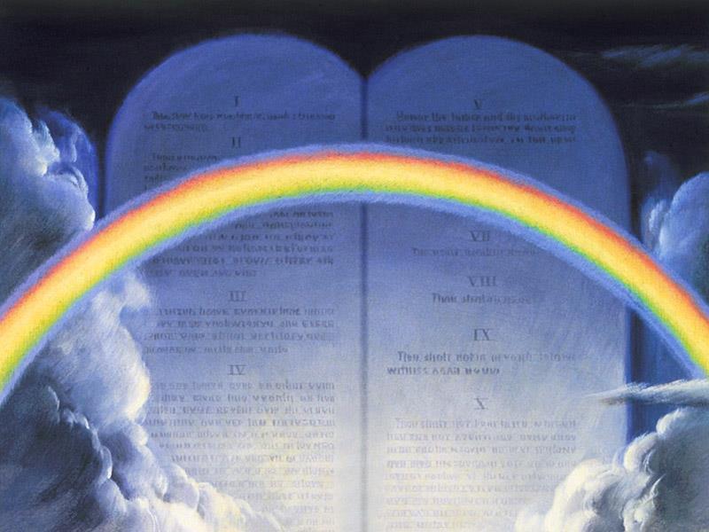 Image result for blue ten commandments sanctuary